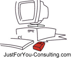 Just For You COmputer Consulting Logo